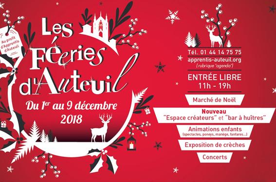 Féeries d'Auteuil 2018 : la magie de Noël pour toute la famille !