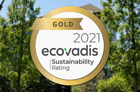 AVEM reçoit la médaille d'or ECOVADIS pour sa performance RSE